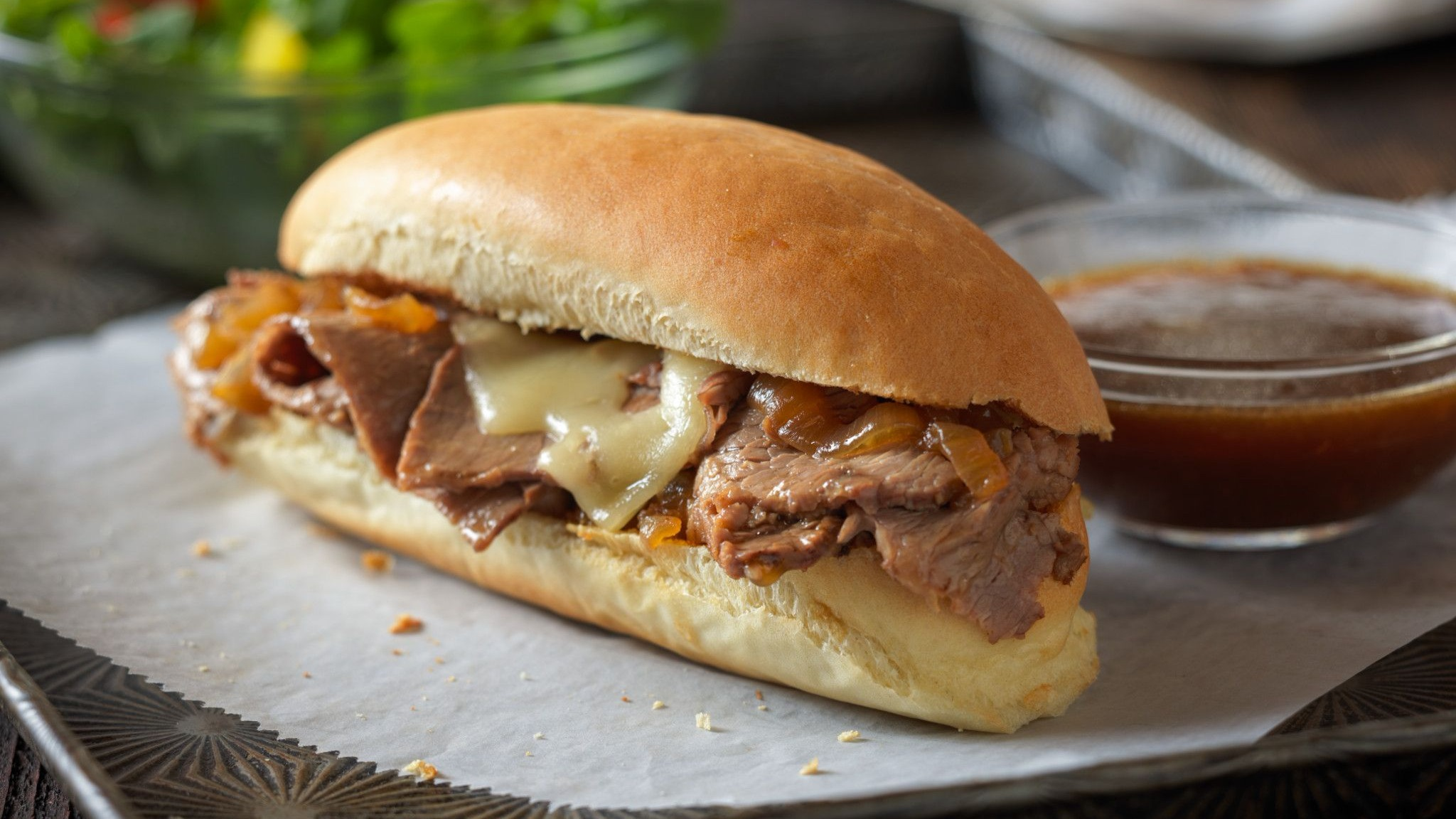 Beef French Dip with Au Jus Recipe