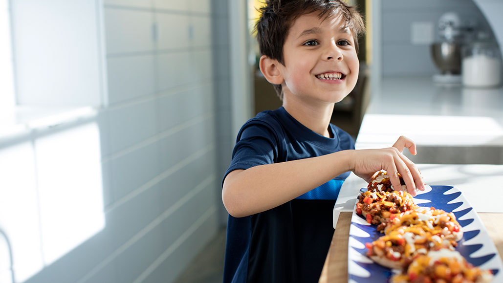 children eating ground beef recipes they love